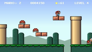 FREE MARIO PC GAME WITH COMPLETE TURBO PASCAL SOURCE CODE!